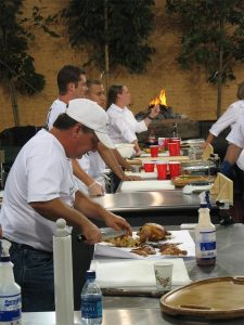 Bad Byron competing on Barbeque Championship Series which aired on Verses network in 2006.